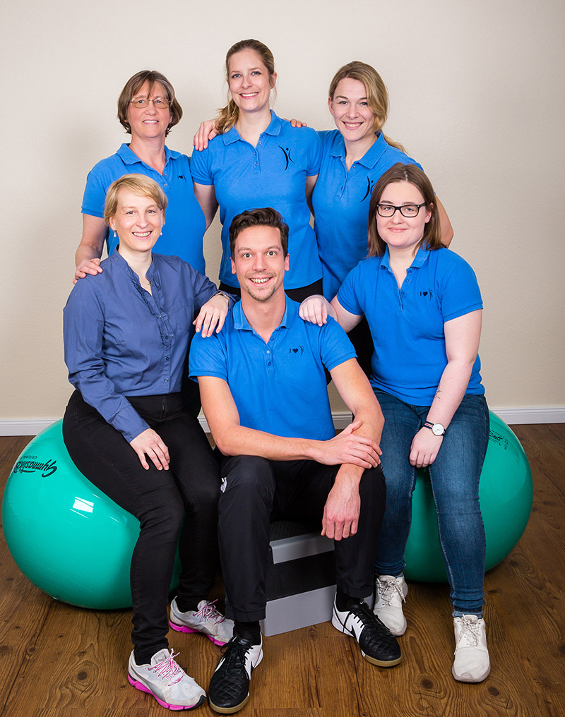 Team Physioteam Gertigstraße