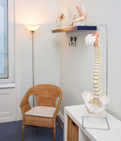Physiotherapie Therapieraum Osteopathie